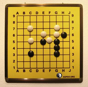 Image result for go game demonstration board images